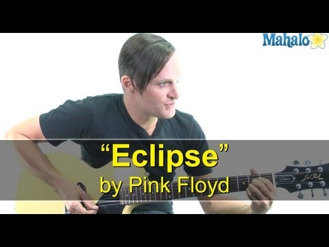 "How to Play ""Eclipse"" by Pink Floyd on Guitar (Practice Cover)"
