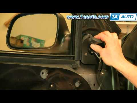 How To Install Replace Side Rear View Mirror Jeep Grand Cherokee 99-04 1AAuto.com