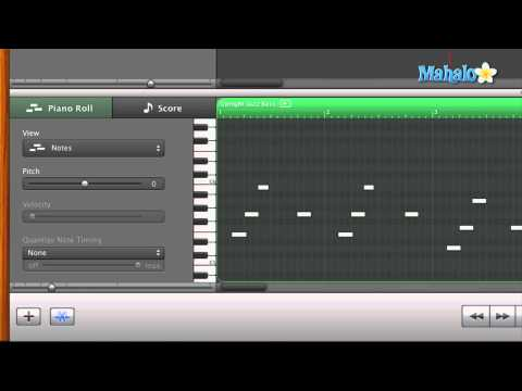GarageBand Tutorial - Track Editor for MIDI Velocity