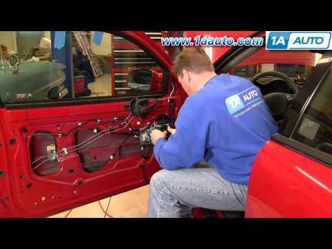 How To Install Replace Power Window Regulator Pontiac Grand Am Olds Alero 99-06 - 1AAuto.com