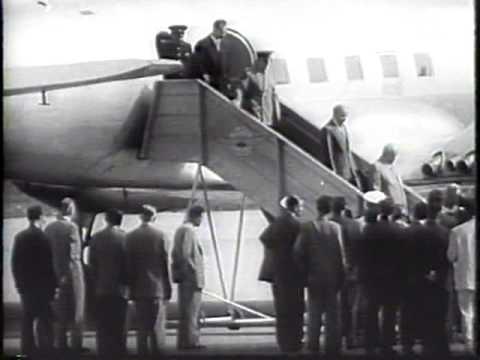 At the Summit 1955 Newsreel