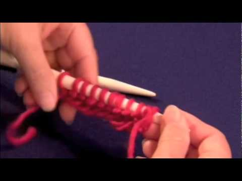 How to Knit the Garter Stitch