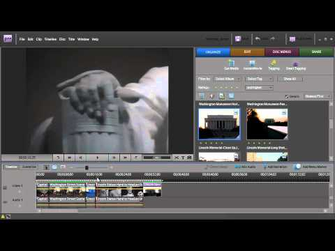 Adobe Premiere Elements 7 ch4: Using Still Images as Clips