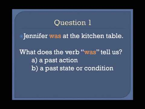 Lesson 3b  - The Simple Past Tense - Basic English Grammar