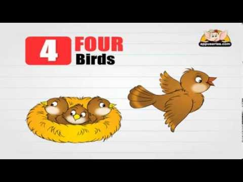 Flashcards for children - Numbers