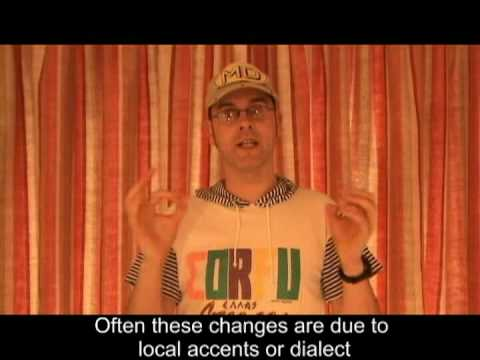 Learning English-Lesson Twenty Four (Changing English)