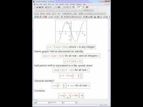 trig graph investigation recap