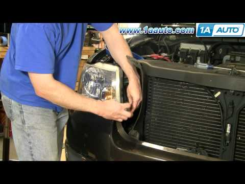 How To Install Replace Headlight Ford F-150 04-08 1AAuto.com