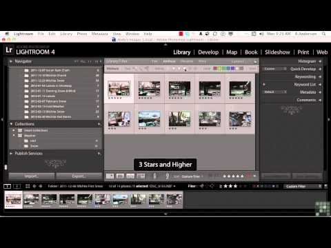 Adobe Lightroom Tutorial | Generating Collection Sets | InfiniteSkills