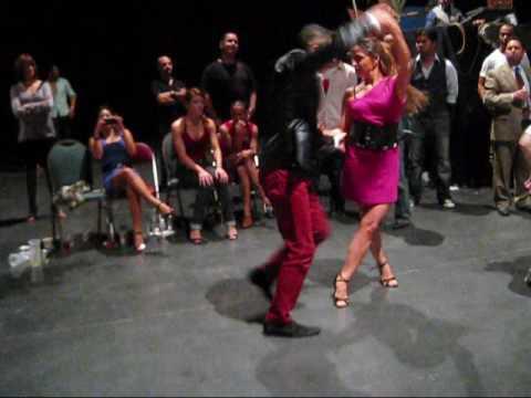 Hot Couple dancing @ SF Salsa Congress 09