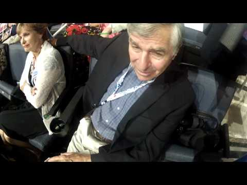 Hatcam Highlight: Michael Dukakis Likes Convention's Spirit