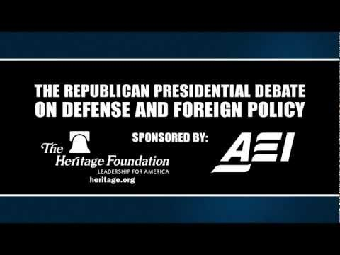 Republican Debate on National Security and Defense