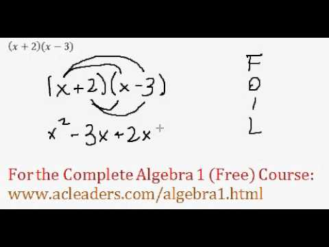 (Algebra 1) Polynomials - Distributive Property Question #3