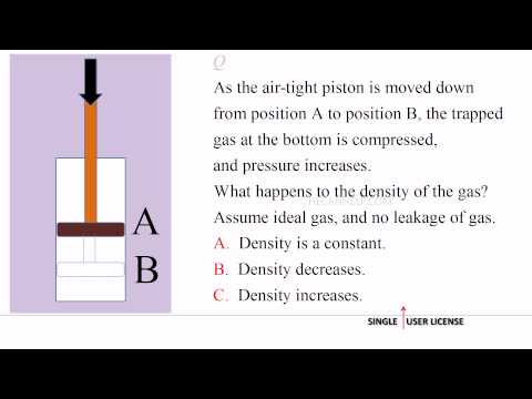 [MM 2189] TEST + A [Change of Density & Pressure] Physics Thermodynamics 8/100 {HECANHELP.COM}