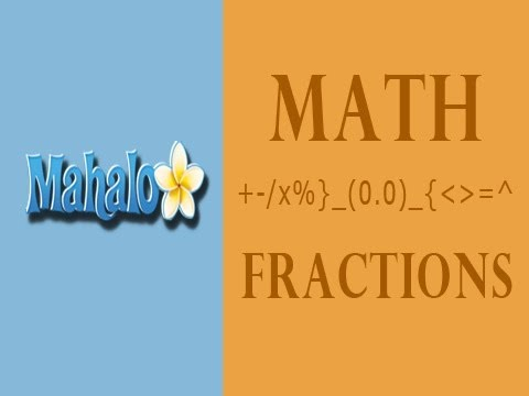 Learn Fractions: How to Notate Fractions