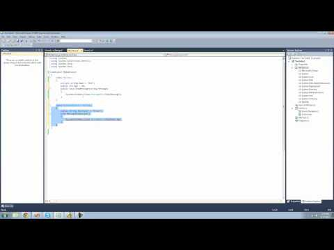 C# Beginners Tutorial - 25 - Inheritance and Overriding