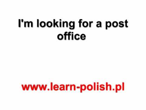 Basic Survival Polish Lessons. Lesson 13. Apprendre le Polonais en Pologne