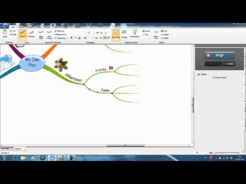 iMindMap 6 - Inserting Audio Notes
