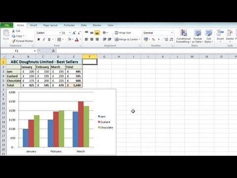 Excel 2010 For Beginners #1 - Overview (Microsoft Excel)