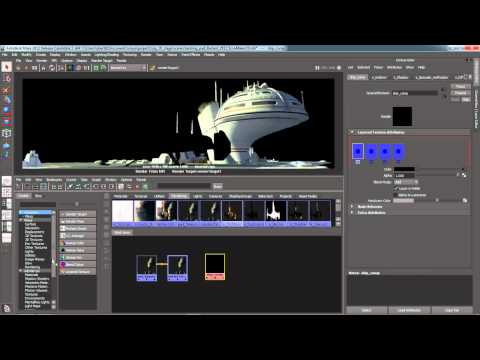 Maya 2012 New Features - Node Based Render Passes