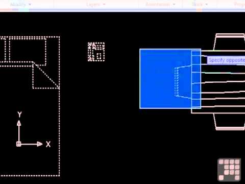 AutoCAD Tutorial Object Selection