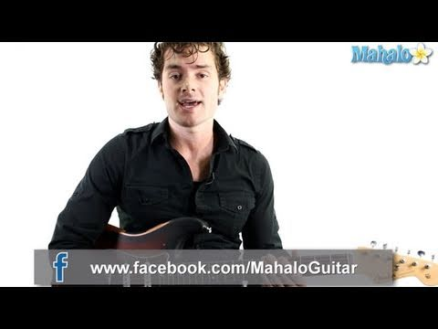 """How to Play """"Song 2"""" by Blur on Guitar"""