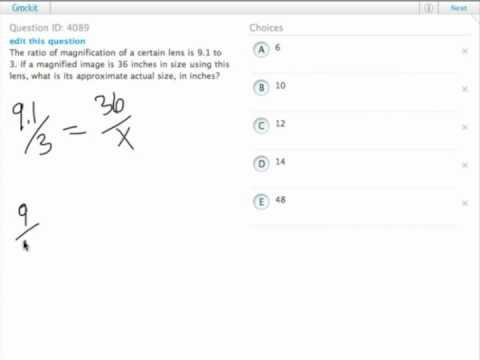 Grockit GMAT Quantitative - Problem Solving: Question 4089