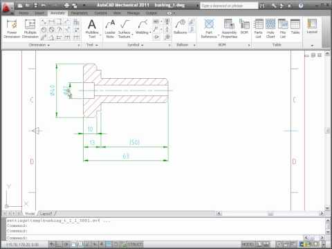 Dimensions — AutoCAD Mechanical 2011