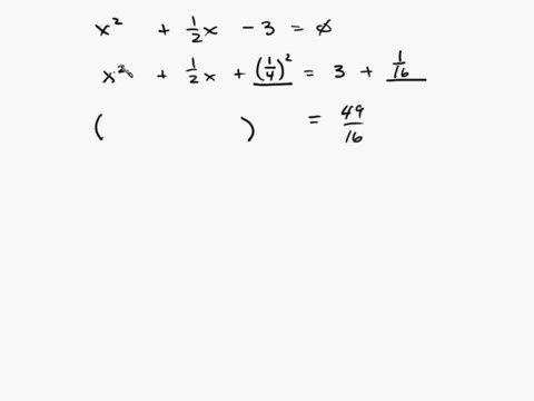 Algebra - Completing the Square Part 2/3 Intuitive Math Help
