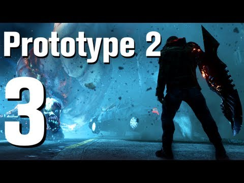Prototype 2 Walkthrough Part 3 - Introduction [No Commentary / HD / Xbox 360]