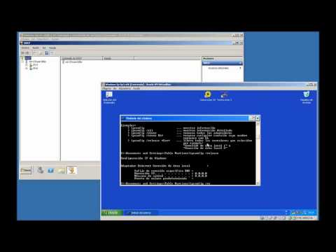 Windows Server 2008 - Instalar DNS, DHCP y RRAS sin domino