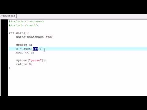 C++ Programming Tutorial - 5 - Fantastic Functions