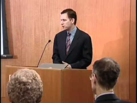 Peter Thiel on the 25-year history of economic bubbles