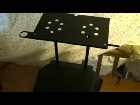 Wing base mixer ramp & lap top stand review part 2