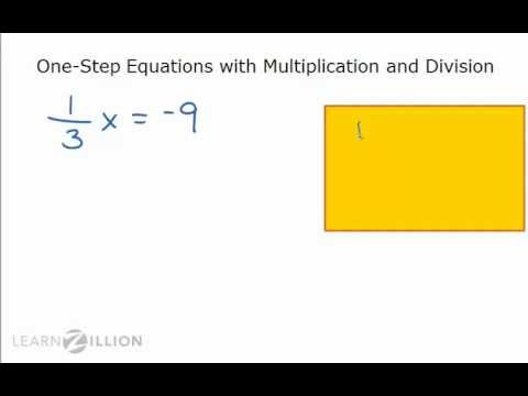 Solve equations using inverse operations - 8.EE.7