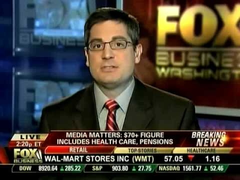 James Sherk on Fox Business Channel