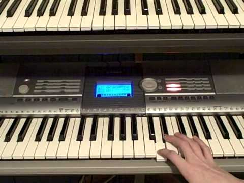 How to play Seek and Destroy By Metallica on Piano