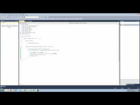 C# Beginners Tutorial - 44 - SaveFileDialog