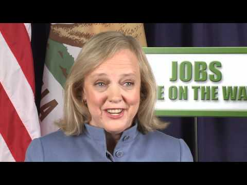 Meg Whitman: You Could Have Hit Me Over with a Feather