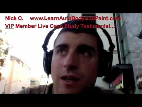 How To Paint a Car - LearnAutoBodyAndPaint.com Live Testimonial