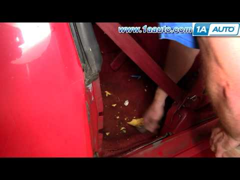 How To Install Remove Front Seats 82-92 Chevy Camaro IROC-Z Pontiac Firebird and Trans AM 1AAuto.com