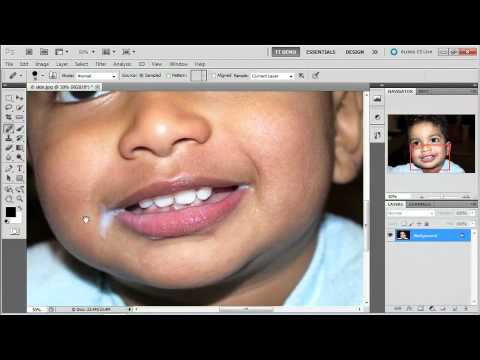 Adobe Photoshop CS5 Extended  The Retouching Tools, including Content-Aware Fill