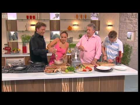 Myleene Klass's Food Heaven: Crab Cakes 1 - Saturday Kitchen - BBC