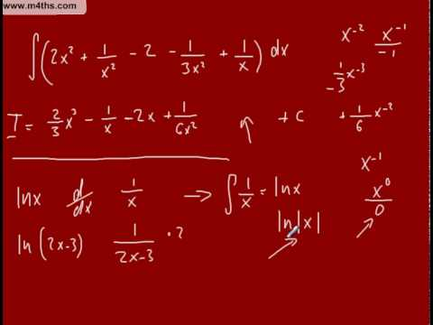 (i) Partial Fractions to Integrate (bit of background learning)