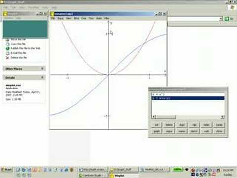 Using Free Graphing Software