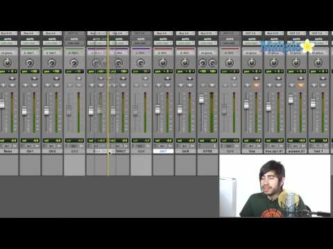 Moving Tracks Around - Pro Tools 9