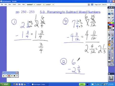 6th Grade Lessons 58 through 510