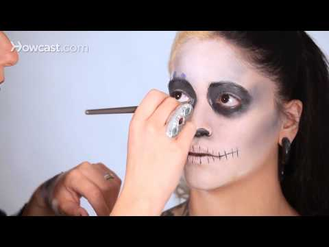 How to Do Day of the Dead Makeup, Pt. 4 | Special Effects Makeup Tutorial