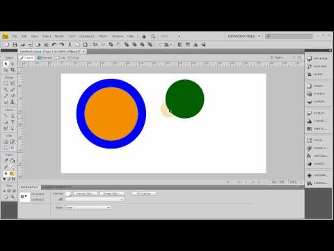 """Understand The """"Select behind"""" Tool - Fireworks CS4 Tutorial"""