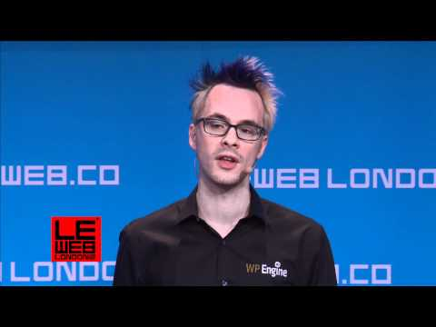 Introduction by Ben Metcalfe, Host - LeWeb London - Start-Up Competition session 1 - Plenary 2